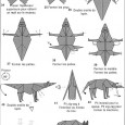 Wolf origami instructions