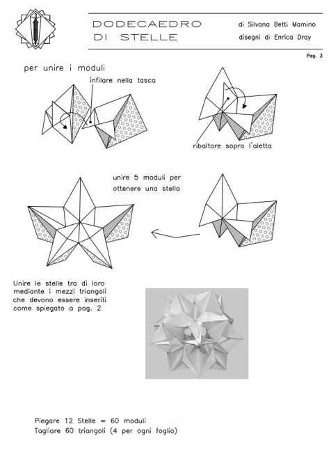 3d geometric origami instructions