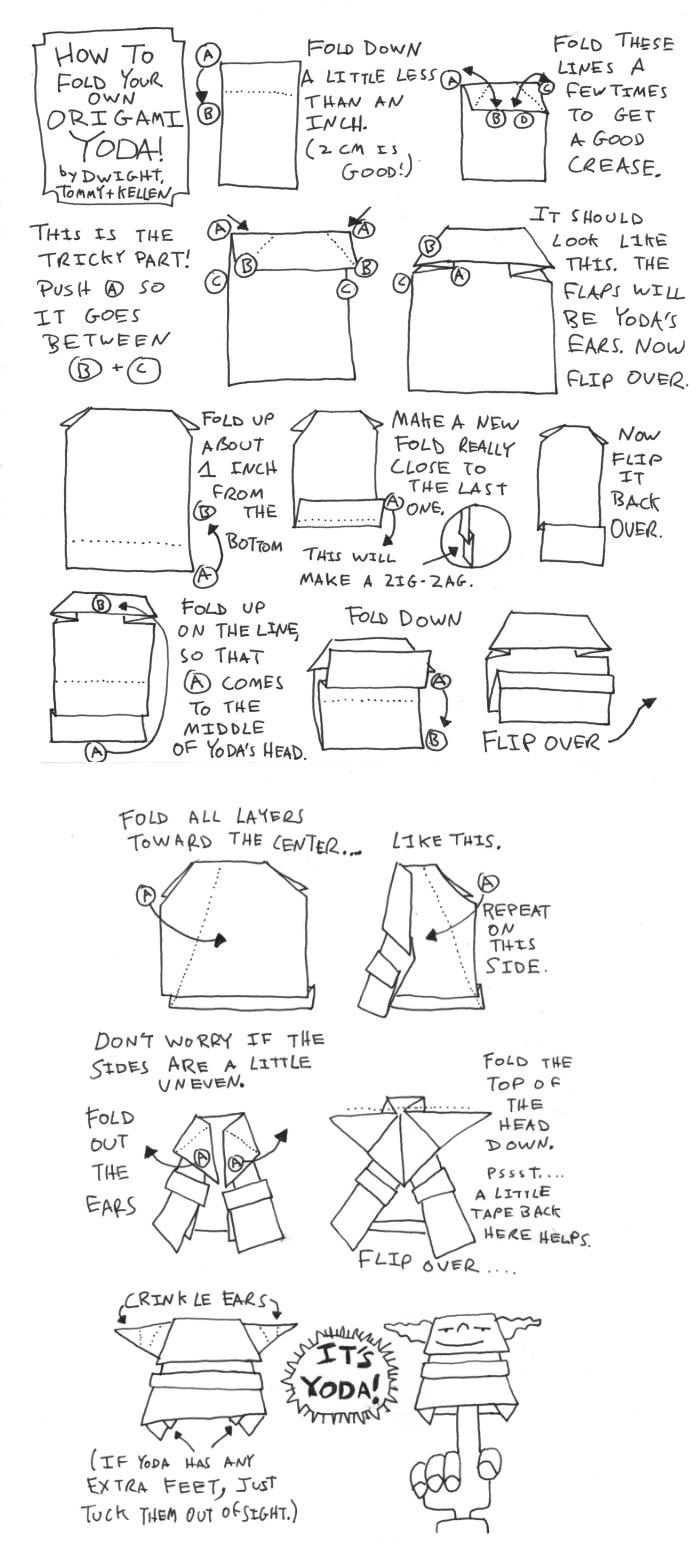 best origami yoda instructions