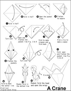 easy origami crane instructions step by step