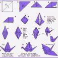 How to make origami crane easy