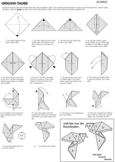 origami dove instructions