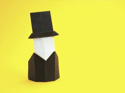 origami person easy