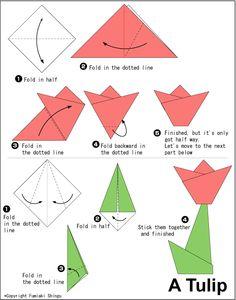 origami tulip easy