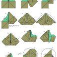 Origami yoda diagrams