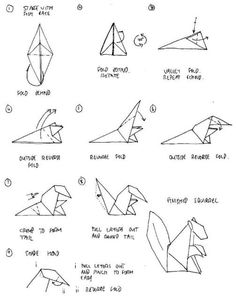 printable 3d origami instructions