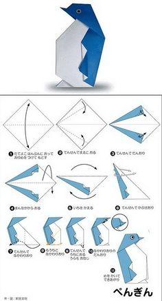 printable origami animal instructions