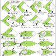 Printable origami dragon instructions